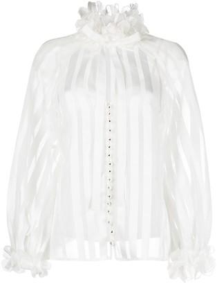 Zimmermann Lovestruck garland blouse