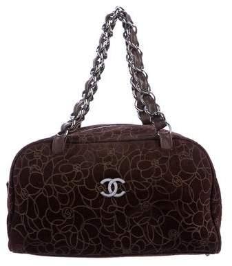 Chanel Camellia Bowler Bag