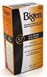 Bigen Powder Hair Color #57 Dark Brown .21 oz. (Case of 6)