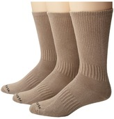 Carhartt Work Wear Flat-Knit Crew Socks 3-Pack