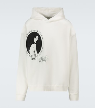 Maison Margiela Graphic printed hooded sweatshirt
