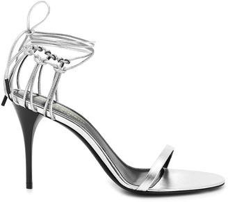 Saint Laurent Lexi Leather Sandals