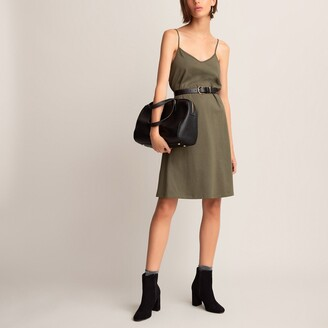 La Redoute Collections Cotton Cami Mini Dress