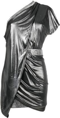 Balmain crystal embellished dress