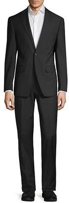 Calvin Klein Slim-Fit Tonal Stripe Suit