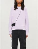 Vince Dolman round-neck cotton-jersey sweatshirt