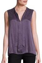 Splendid Tie-Front Sleeveless Shirt