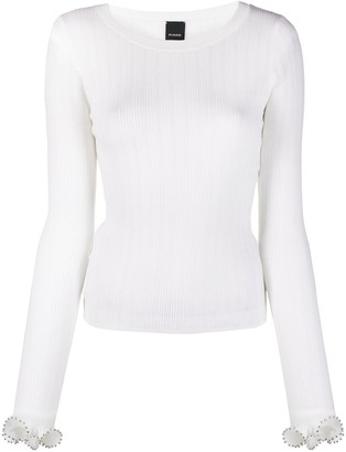 Pinko Ribbed Knit Jumper