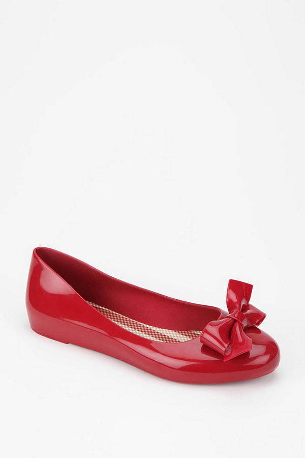 Urban Outfitters Mel By Melissa Shoes Bow Skimmer