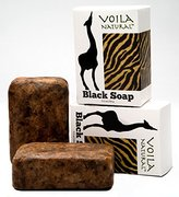 African Black Soap with Shea Butter & Bonus Face Oil Blend with Rosehip, Argan, Jojoba & Marula Oil (pack of 2)
