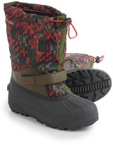 Columbia Powderbug Forty Print Pac Boots (For Little and Big Kids)