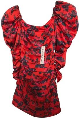 For Love & Lemons Red Synthetic Dresses
