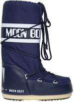 Moon Boot Nylon Canvas Snow Boots