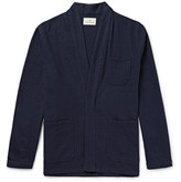 The Lost Explorer - Boiled Wool and Cotton-Blend Open Chore Jacket