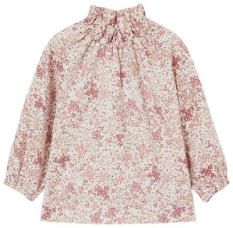 Il Gufo Long-Sleeved Floral Blouse (3-12 Years)
