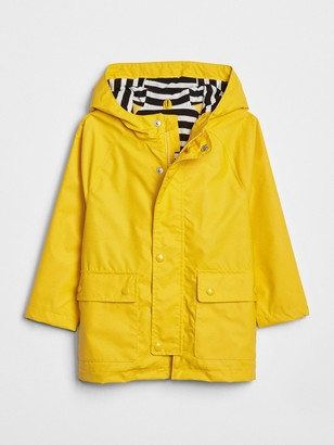 Gap Toddler Jersey-Lined Raincoat