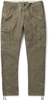 Polo Ralph Lauren Slim-Fit Cotton-Ripstop Cargo Trousers