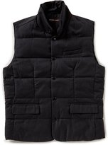 Michael Kors Wool-Blend Quilted Vest