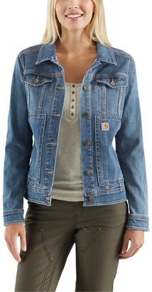Carhartt Women's Size Benson Denim Jacket