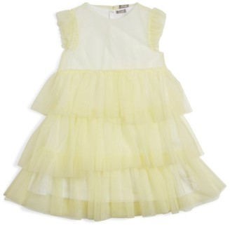 Il Gufo Tiered Tulle Dress (3-12 Years)