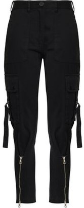 Robert Rodriguez Zip-detailed Cotton-blend Twill Tapered Pants