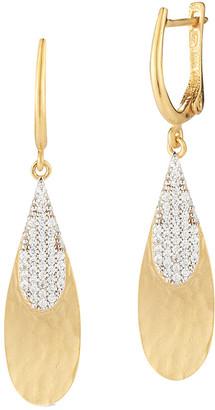 I. Reiss 14K 0.47 Ct. Tw. Diamond Dangling Earrings