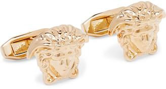Versace Medusa Gold-Tone Cufflinks
