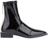 Fendi patent leather ankle boots