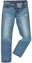 True Religion Rocco Skinny Super T With Flap Light Wash Jeans