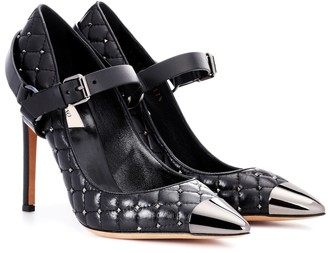 Valentino Rockstud Spike leather pumps