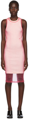 Helmut Lang Pink Masc Tank Dress