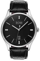 HUGO BOSS QTZ Leather Strap Jackson Watch