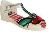 Miss L Fire White Cherry Sandal