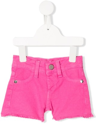 Miss Blumarine Denim Mini Shorts