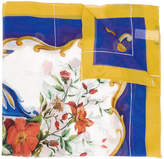 Dolce & Gabbana majolica printed scarf