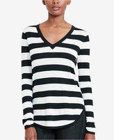 Lauren Ralph Lauren Petite Striped Sweater