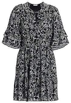 Parker Women's Lindsay Flutter-Sleeve Dress