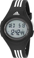 adidas Men's ADP3174 Uraha Digital Black Watch with Striped Band