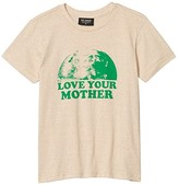 Tiny Whales Love Your Mother T-Shirt (Toddler/Little Kids/Big Kids) (Tri Sand) Boy's Clothing