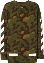 Off-White military stripe sweater