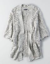 American Eagle AEO Open Knit Cocoon Cardigan