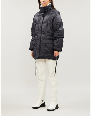 SHOREDITCH SKI CLUB Laurie puffer shell coat