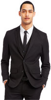 Kenneth Cole Reaction Black Two-Button Suit Jacket