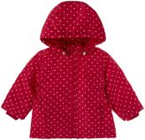 Name It Girls Polka Dot print zip hooded Jacket
