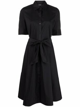 Lauren Ralph Lauren Belted Shirt Dress