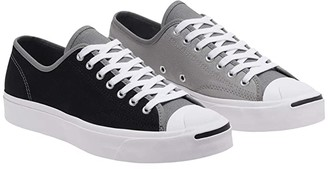 Converse Jack Purcell Color Blocked - Ox (Black/Mason/Dolphin) Shoes