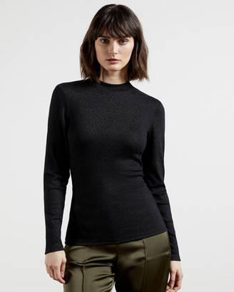 Ted Baker STORMIE Glitter ribbed top