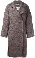 Cacharel single breasted tweed coat