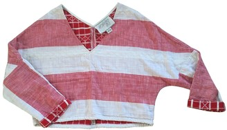 Ace&Jig Pink Cotton Top for Women
