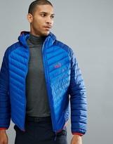 Jack Wolfskin Zenon Storm Puffer Jacket In Costal Blue